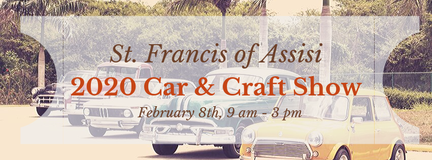St. Francis of Assisi Car Show Banner