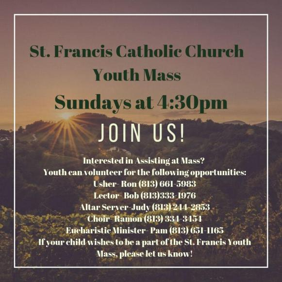 St. Francis Youth Ministry
